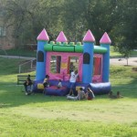 Kids loved the Inflatable Castle